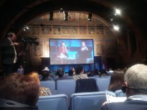 Keynote speach al festival del Giornalismo