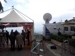 Le tv al Festival del Giornalismo