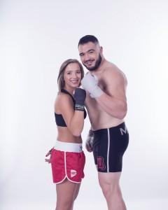 Mauro Cerilli e Beatrice Pegorin