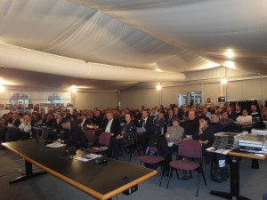 La platea del XXI Congresso Ancit