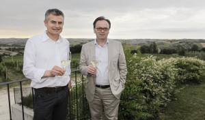 Giuliano D'Ignazi (enologo) e Doriano Marchetti (Presidente)