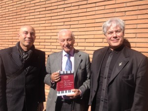 Piero Angela testimonial dell'Accademia e appassionato di Pianoforti Antichi