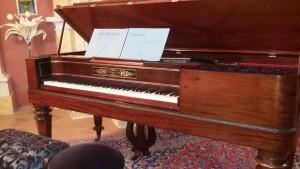 Square piano De Ruyter 1846