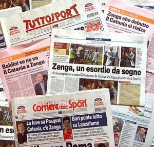 Diffusione stampa sportiva