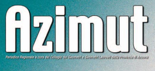 Periodico del Collegio dei Geometri di Ancona