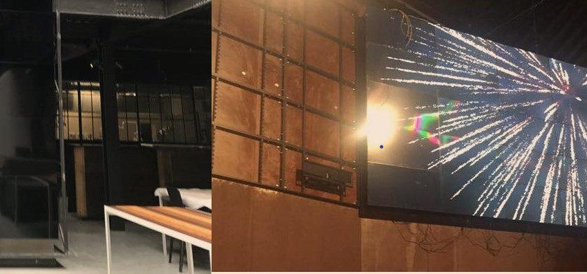 video wall alle OGR di Torino - V3 ElettroImpianti
