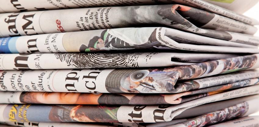 Quotidiani, lettura nelle Marche